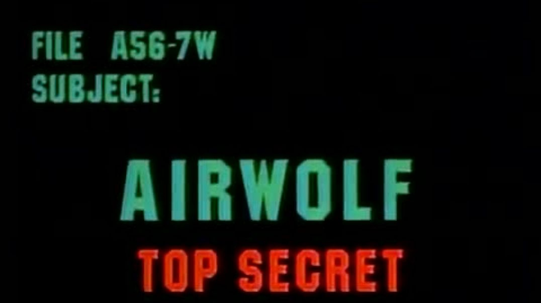 Airwolf - The lady in action [ Moffett`s Ghost, HX 1, Mind of the Machine ++ ]