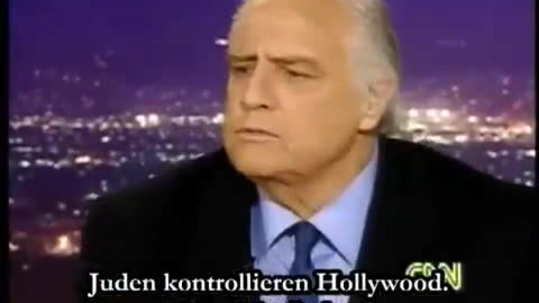 Brando - Hollywood is run by jevvs