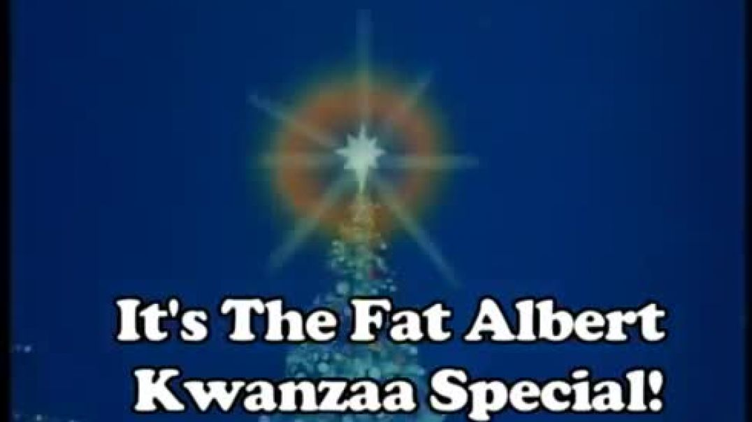 It's The Fat Albert Kwanzaa Special!