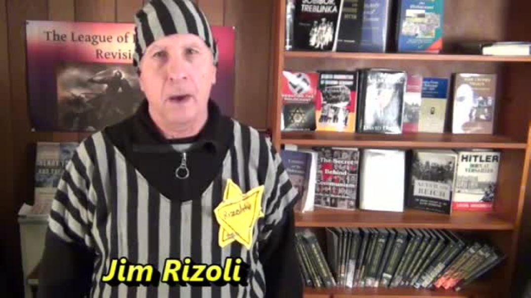Holocaust Remembrance Day 2018 with Jim Rizoli