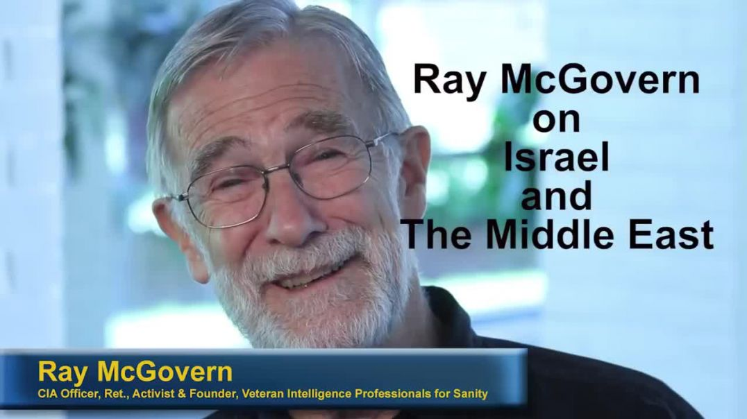 #ISRAEL #TREASON #WARCRIMES #AGENDAS Top CIA analyst  Israel partisans push US to war[720P]