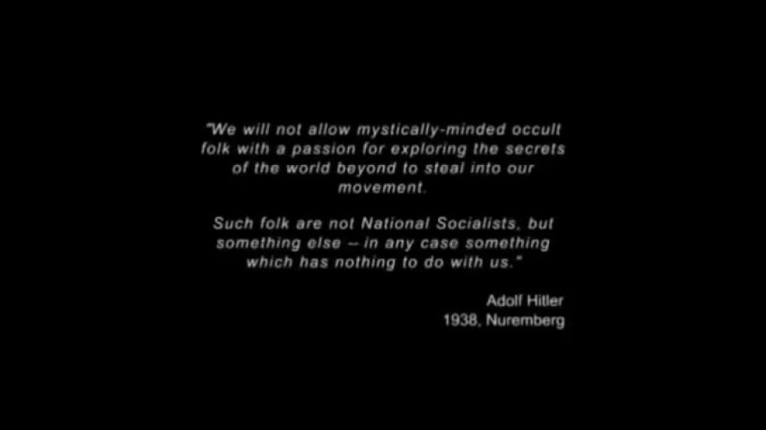 Hitler and the Nazis were Occultists debunked in under 3 minutes