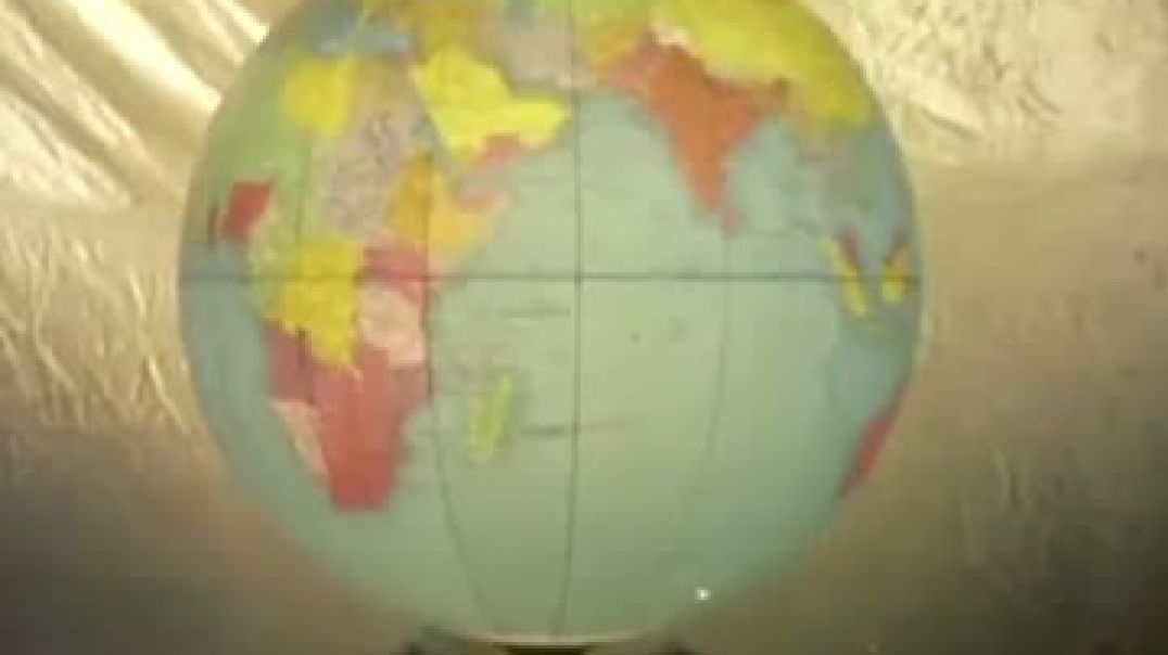 How globes were made in 1955