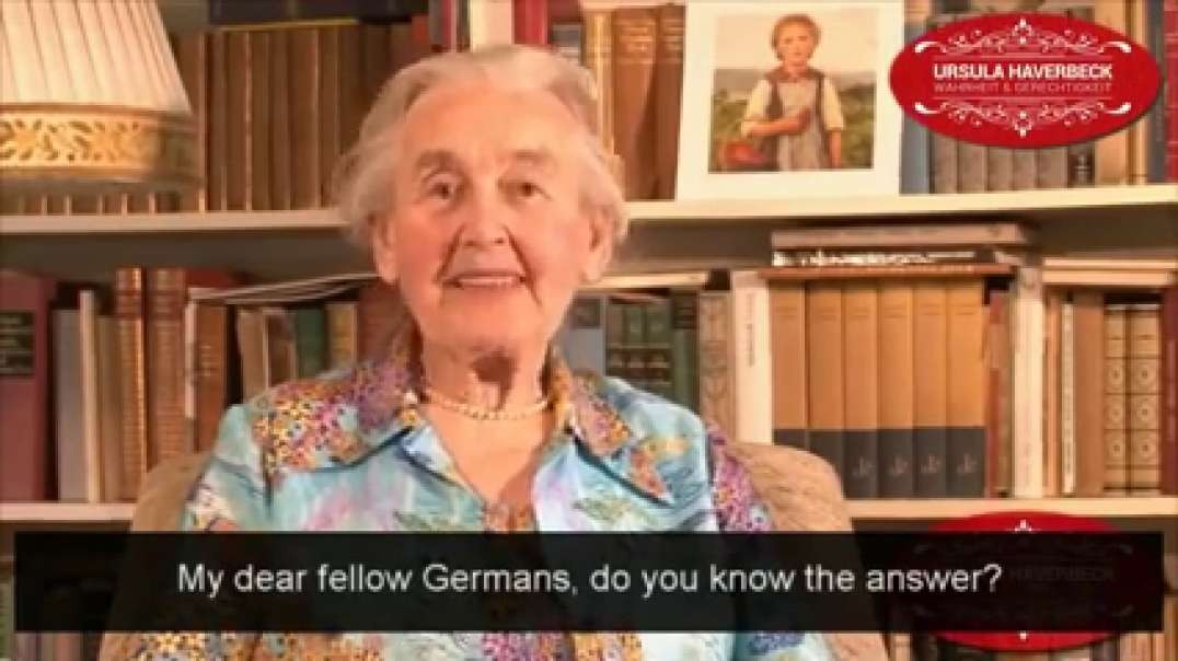 Ursula Haverbeck - The Biggest Problem of Our Time | Occupied Germany right now.