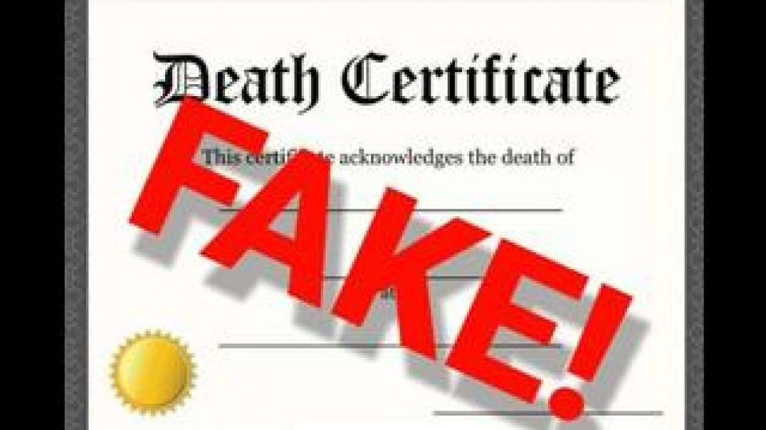 FAKING DEATH CERTIFICATES FOR COVID19 TO MAKE EVERY DEATH A CORONA DEATH