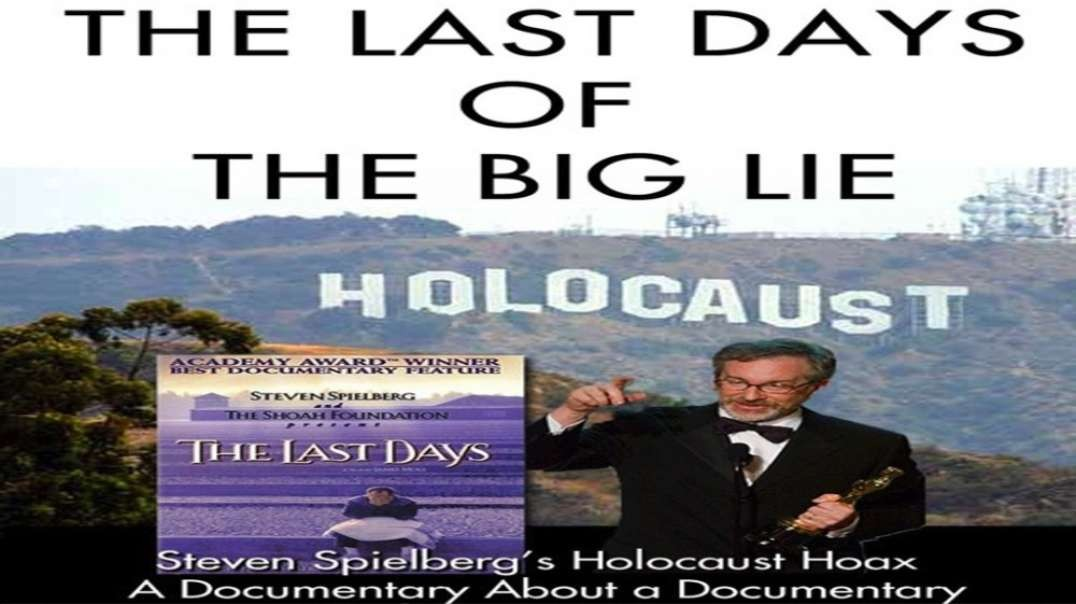 THE LAST DAYS OF THE BIG LIE by Eric Hunt (2009)