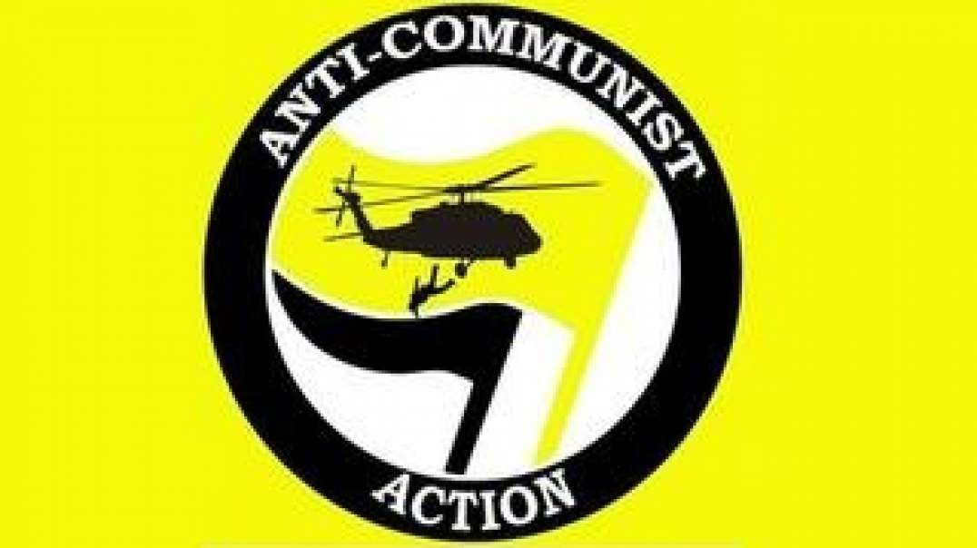 Filthy antifa communists decide to go into the suburbs... with outstanding results..