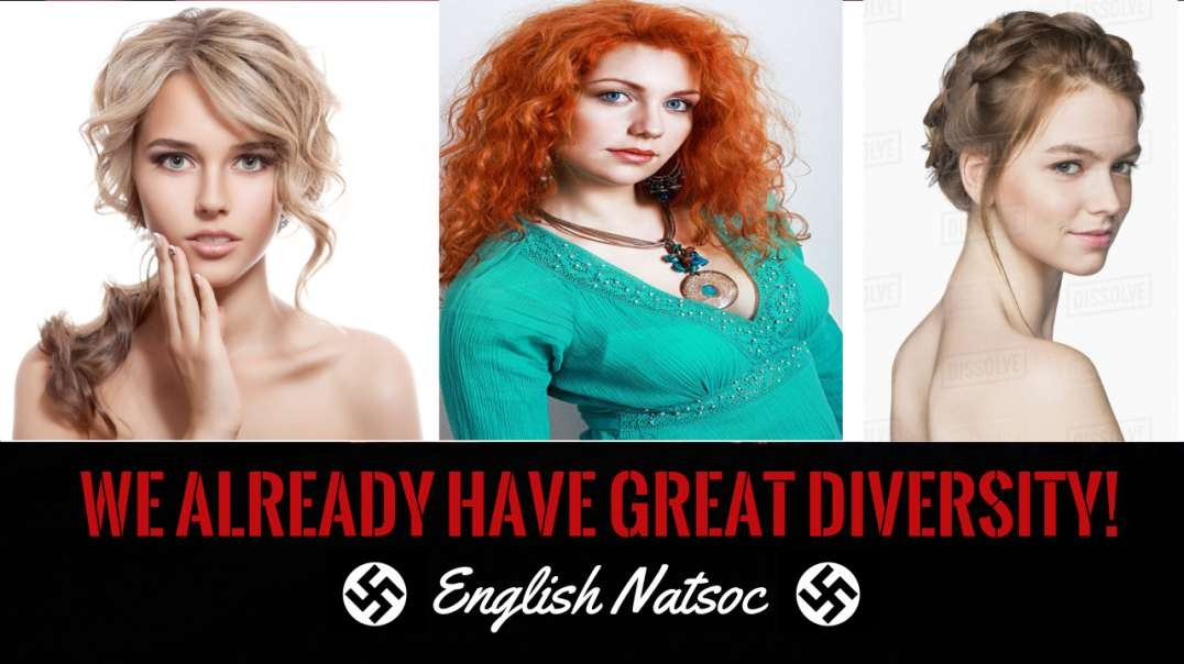The European people's are the most diverse of all races.