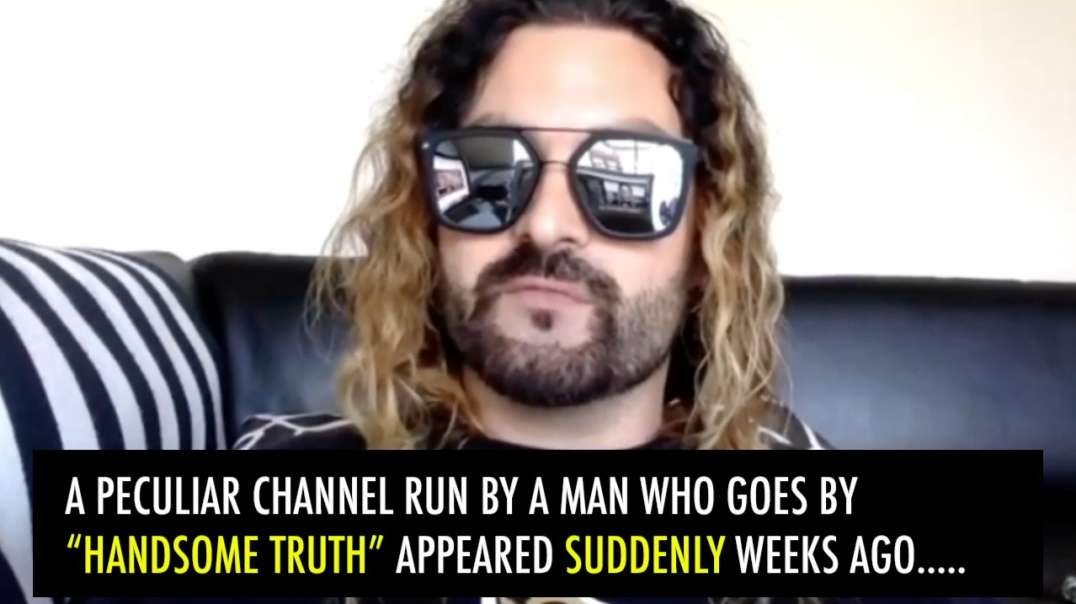 the jew handsome truth EXPOSED. he is a subversive anti-white pretending to be pro white