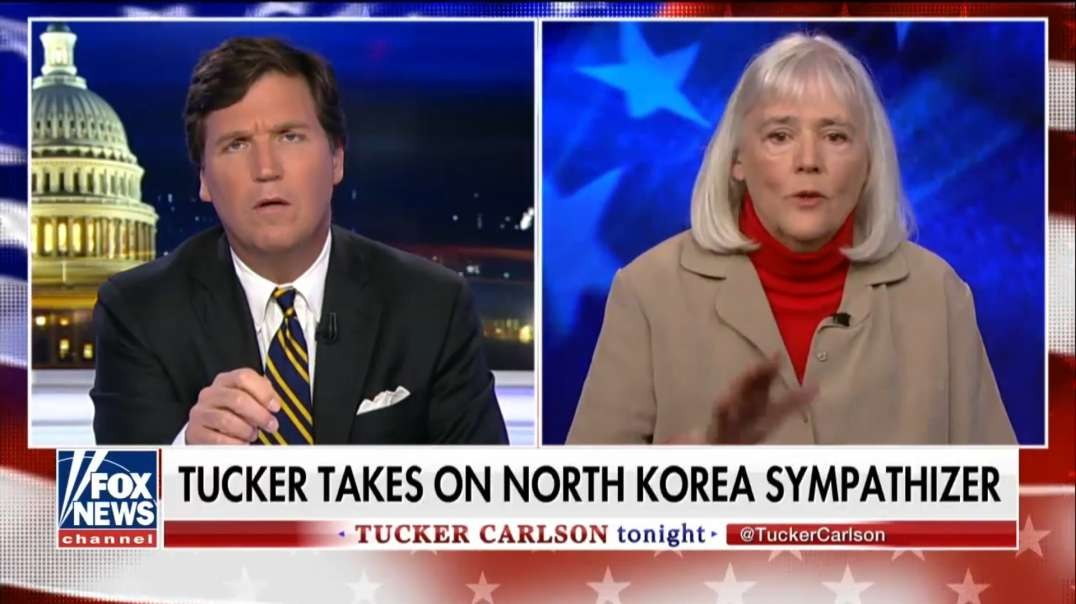 Fox News gets debunked by old lady on North Korea, she doesnt take their Anti-Communist BS