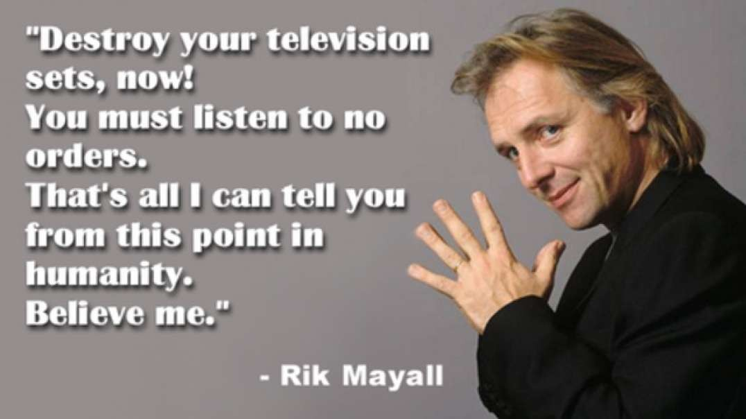 Rik Mayall Explains How They Plan to Exterminate Us Using Vaccines and Exposes the 9/11 False Flag