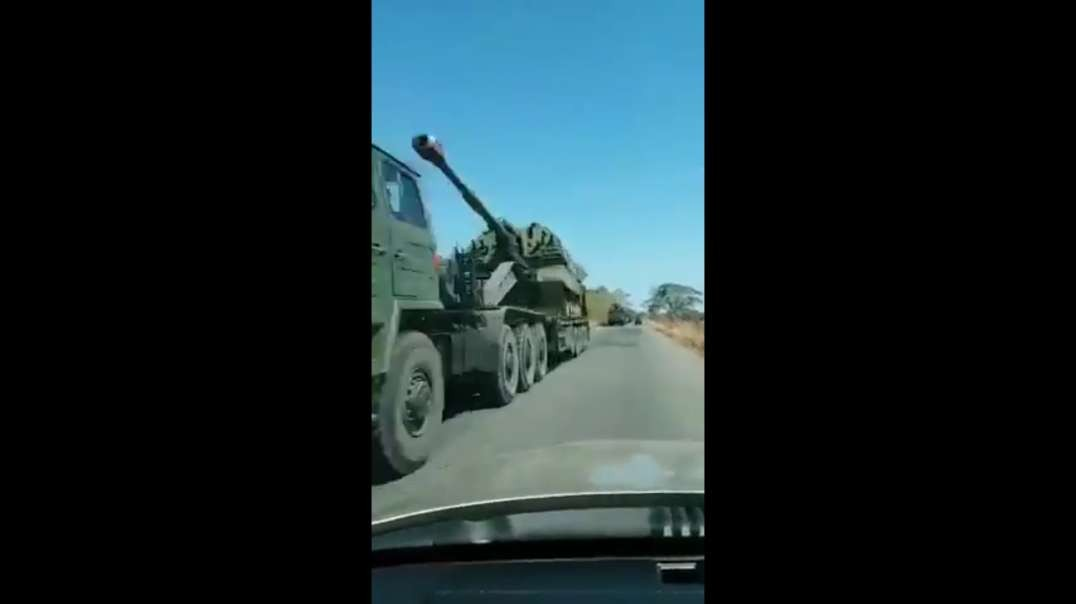 Venezuelan Military build up on the border against US aggression.
