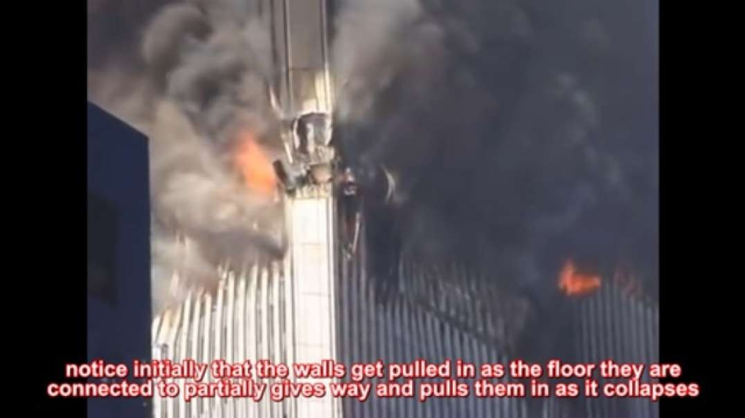 even better footage of the evidence there was NO explosives in wtc2 when it began collapsing