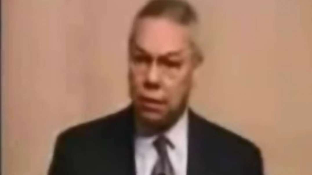 Powell & Rice said in Feb. & July '01, Iraq had no WMD's. Can't project weapons..