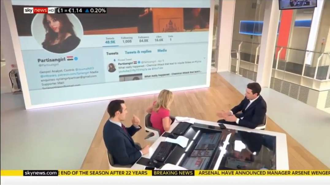 UK Govt and media go haywire, accusing Syrian Girl Partisan as a Russian bot