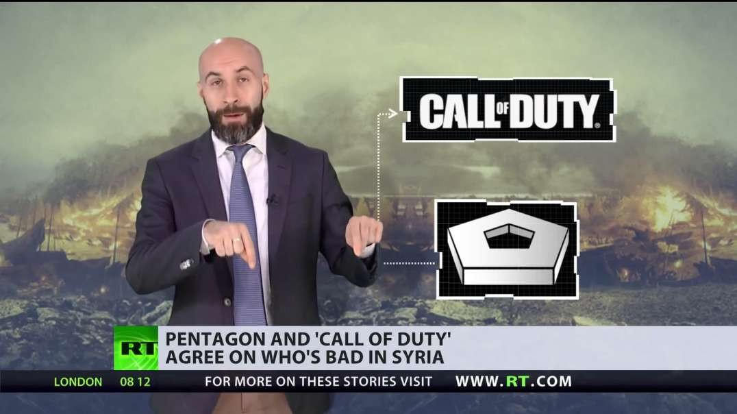Latest Call of Duty goes full political, features White Helmets and other Anti Russia Propaganda