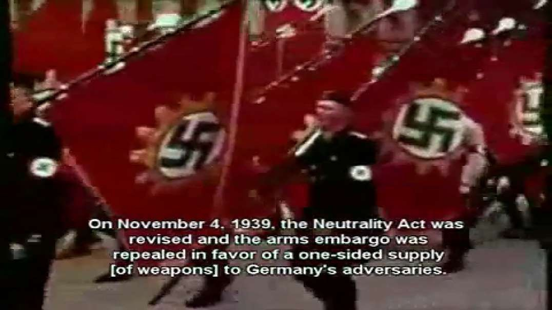 Hitler the Great rightfully declares war on the (((zionist state  USA)))