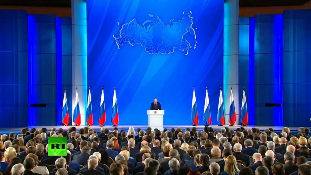 Putin proposes free internet access to important Russian sites. Talks about the Future and the Past