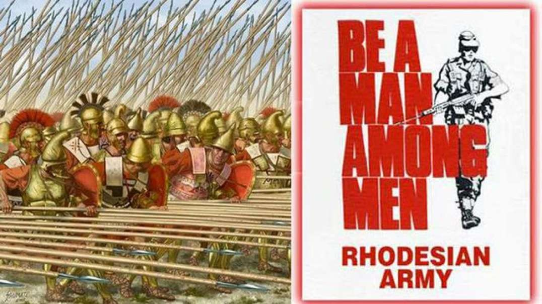 HOW WHITE RHODESIANS RELEARNED WARFARE THE ANCIENT GREEK WAY