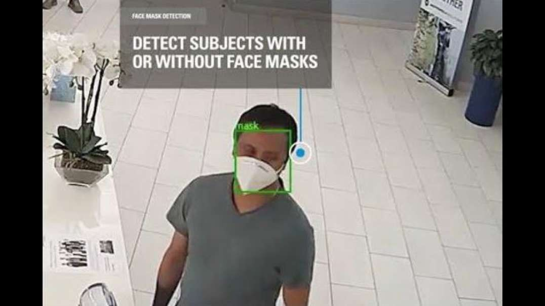 FACE MASK DETECTION.IT'S LIKE THEY KNEW IT WOULD BE NEEDED- DO NOT COMPLY