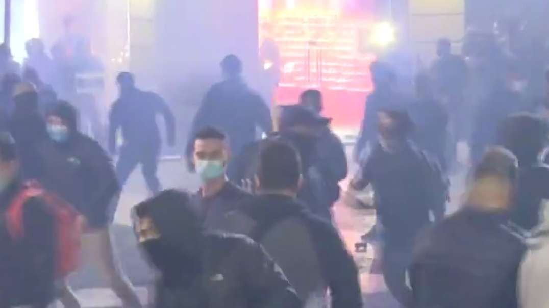 Growing anti-lockdown protests spiraling out of control in Barcelona, Spain