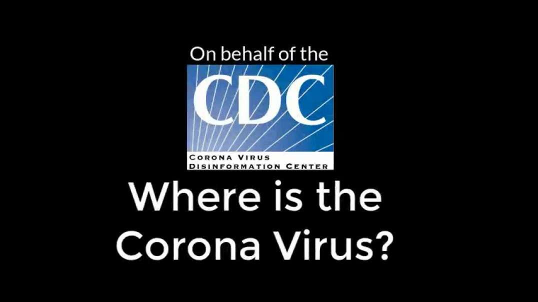Evidence: The CDC comes clean - the real virus is unavailable