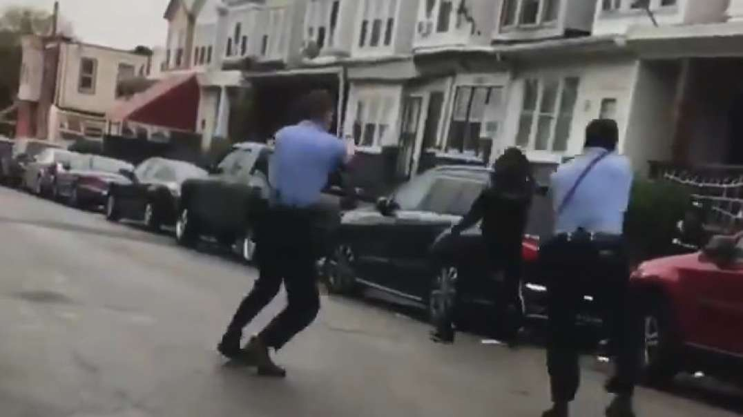 another violent shitskin with a knife gets himself shot by cops