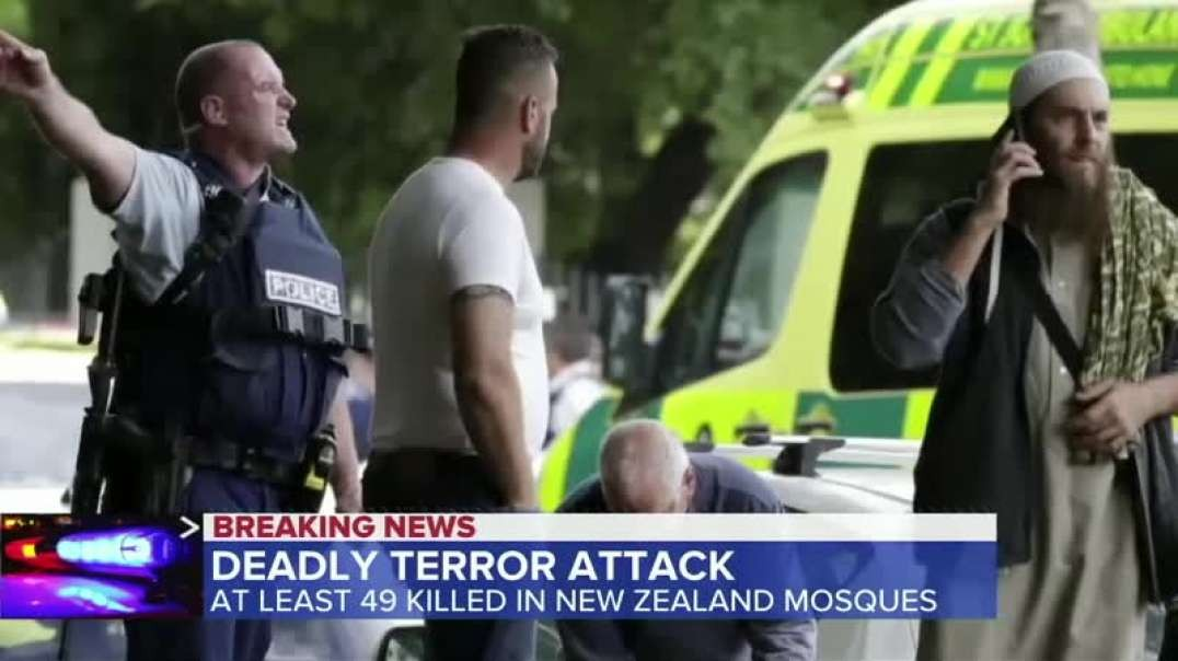 Syrian Matrix. Global Hoax: New Zealand Mosque-Shooting (from INFINITY WARS 4)