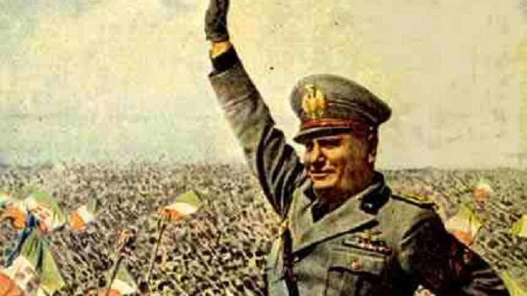 Benito Mussolini Speech to his People