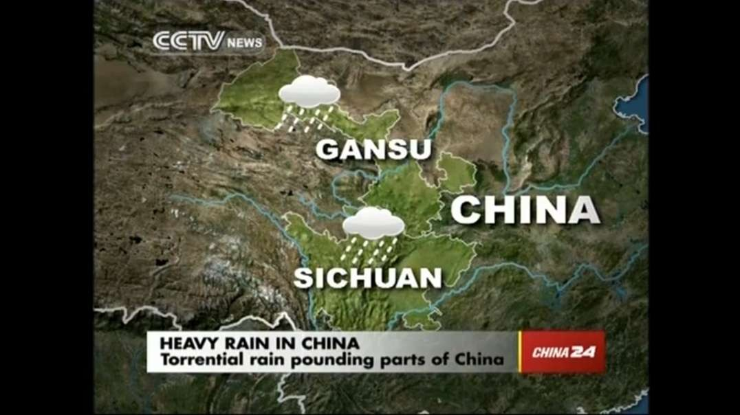 Torrential rain pounding southwest parts of China