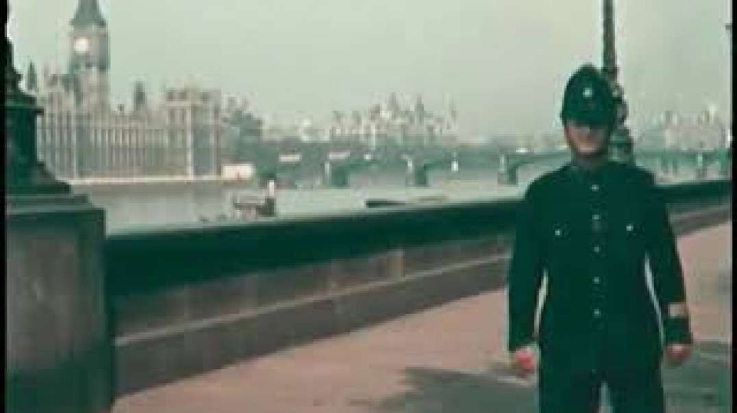 The earliest known original colour film of London in 1924