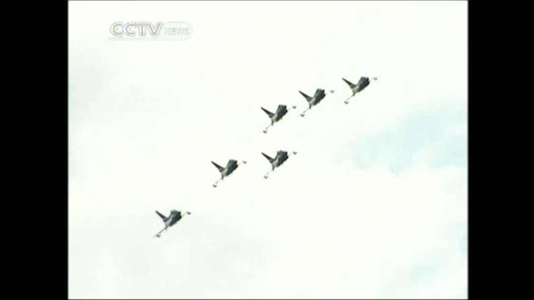 China's J-10 Performs at Russia Air Show