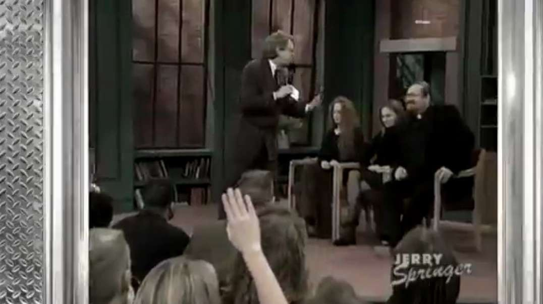 "Jerry Springer ""We know that the 6 million died"""