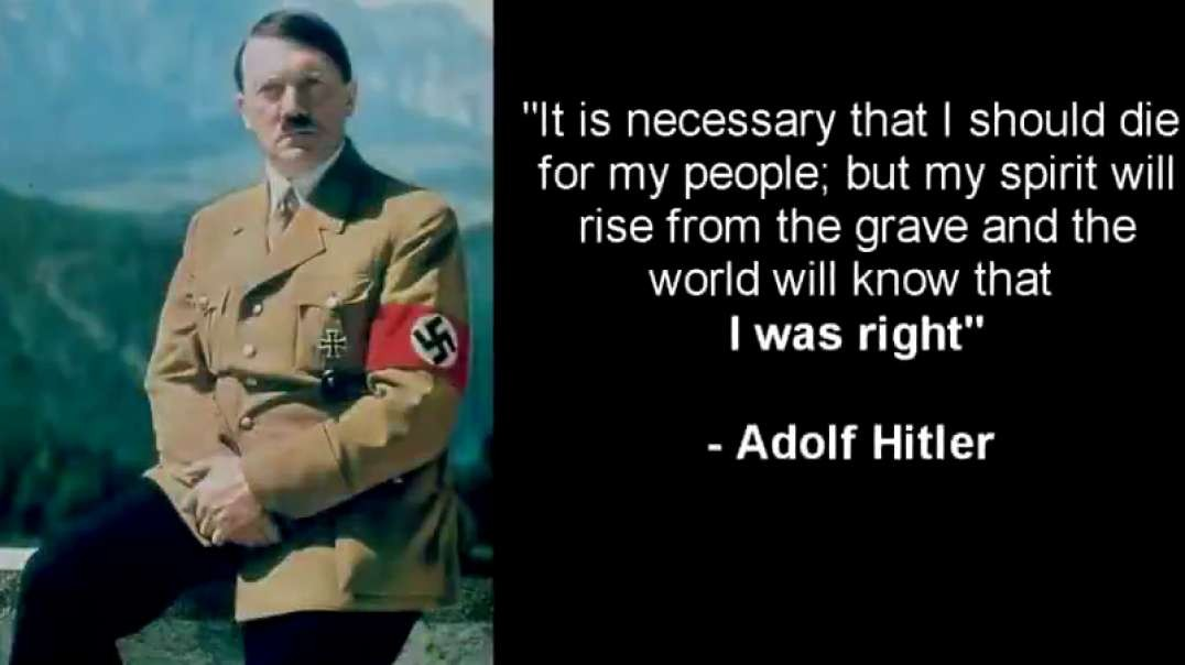 Uncle Adolf was RIGHT