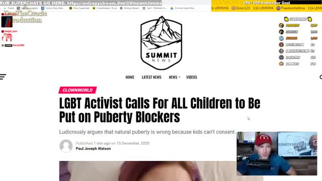 faggots calling for ALL children to be turned into faggots...