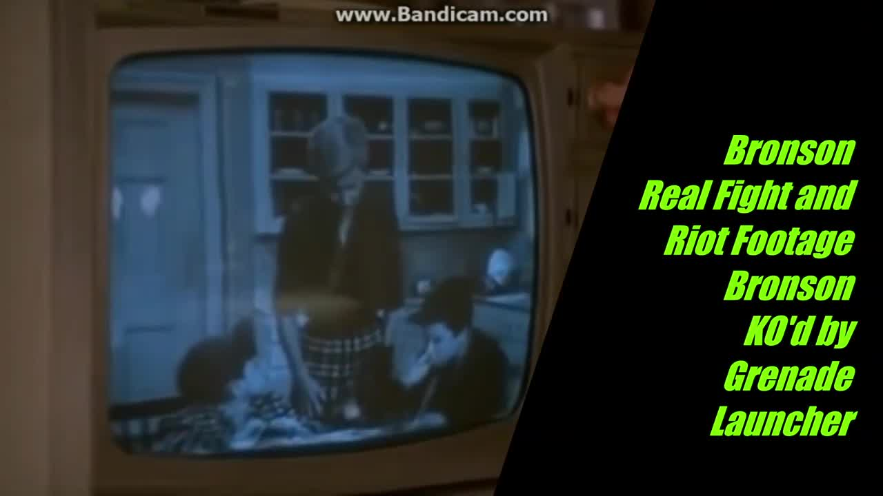 """Bronson - Real Fight and Riot Footage - """"They were all my friends and they died."""""""