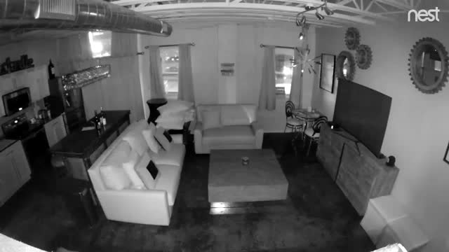 Here is security camera footage of a condo at  309 church in the Exchange Lofts. Video from Aaron and Tiffany Trevethan nashville explosion