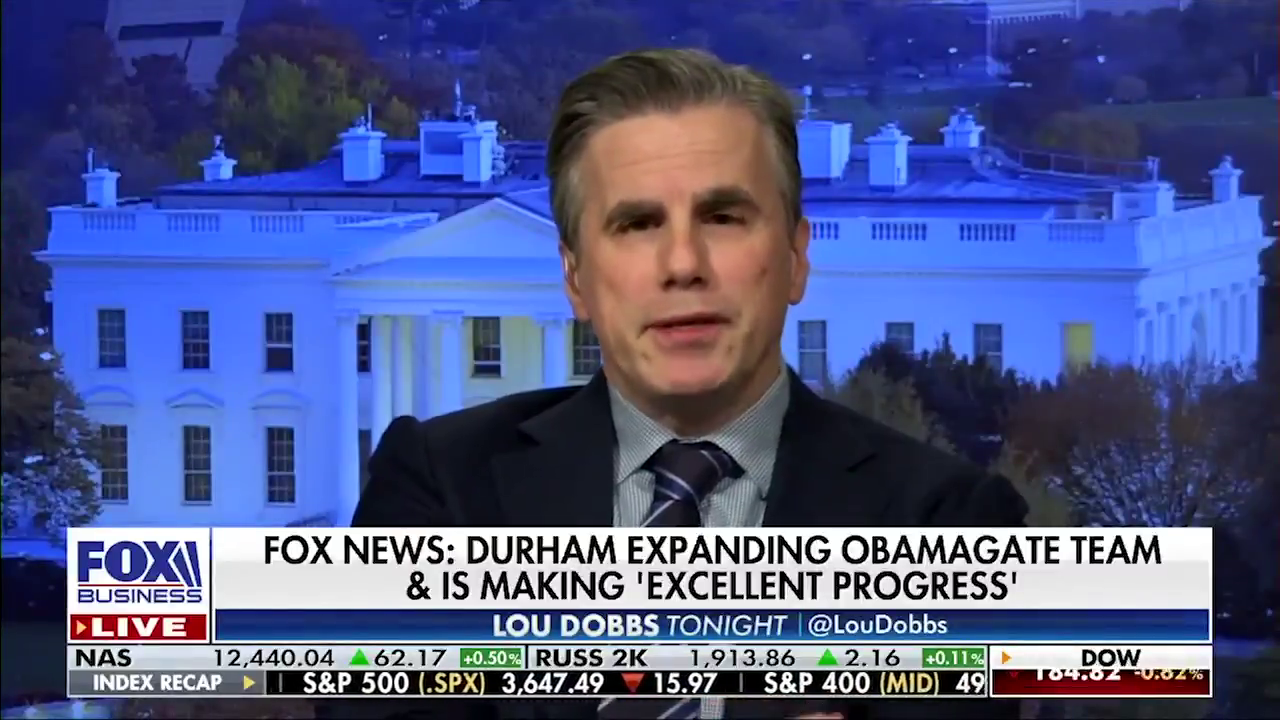 """""""We need a special counsel to figure out why the DOJ/FBI suppressed investigations of Joe Biden and his family for the last two years,"""""""