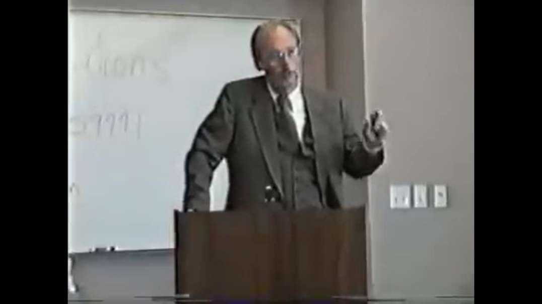 James Mason's First Televised Lecture At Phoenix University (2002)