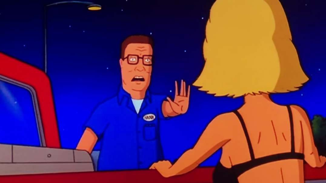 Hank Hill shows what to do if you come across a thot