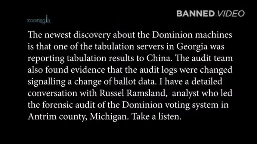 IT Expert - Spy Thermostat In Georgia Was Sending Election Results Back To China