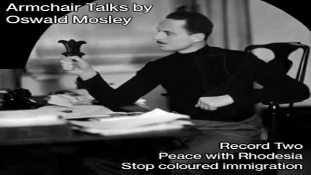 Armchair Talks By Oswald Mosley On 'Multi-racialism' and Rhodesia (1965)