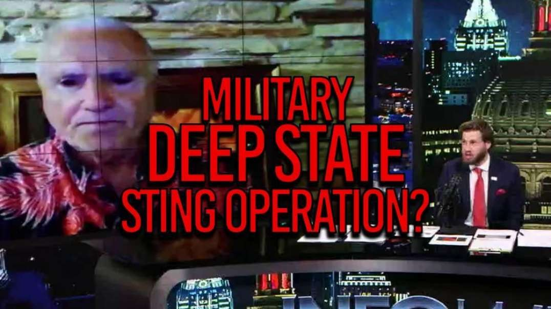 Exclusive - Military Runs Sting Operation On Deep State Criminals; Will Involve CIA, FBI and DOJ.