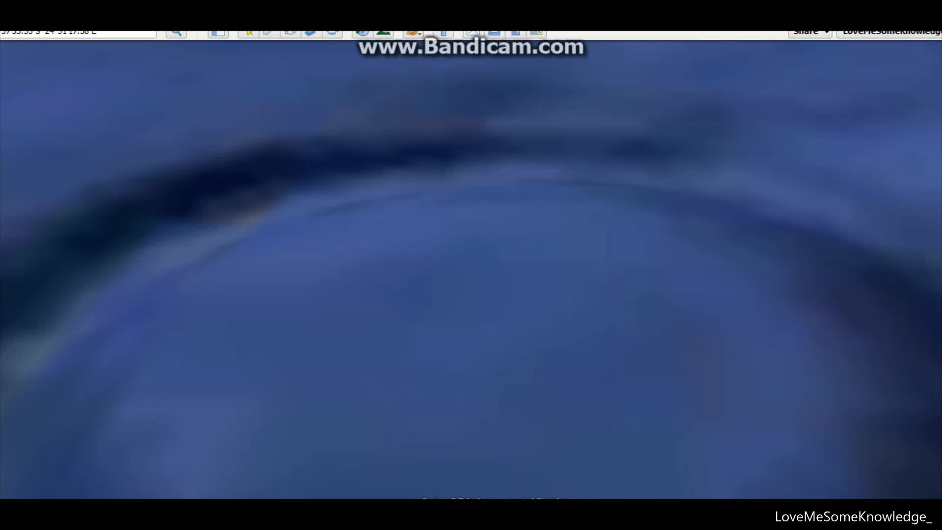 Weird Grid Outlines in the Pacific by Panama plus a crater or mound. Location Given.
