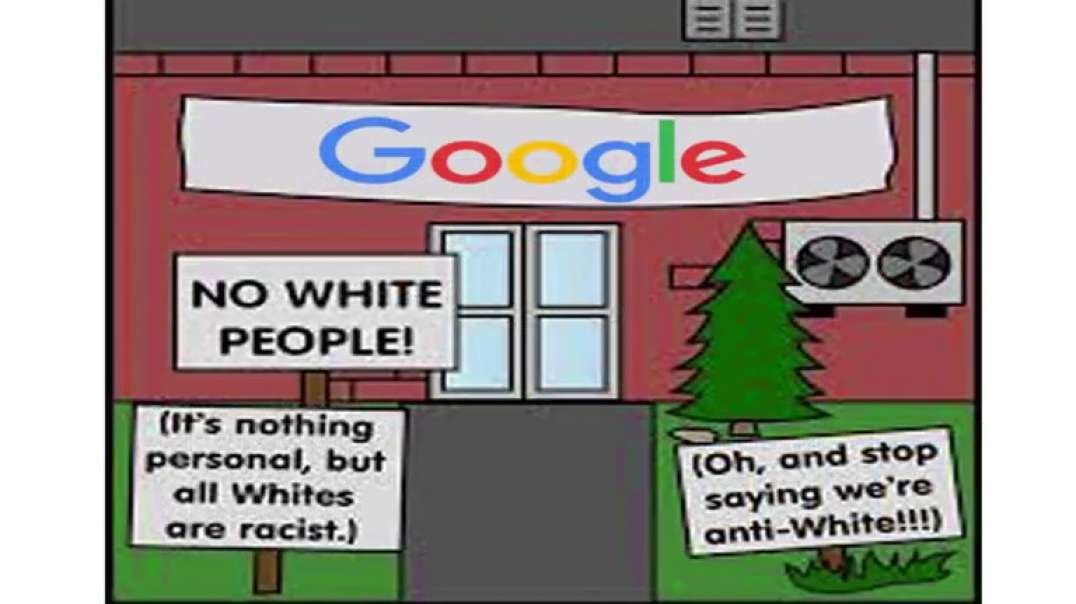 100% proof (((Google))) HATES White people, and it's run by bastard murderous jEws