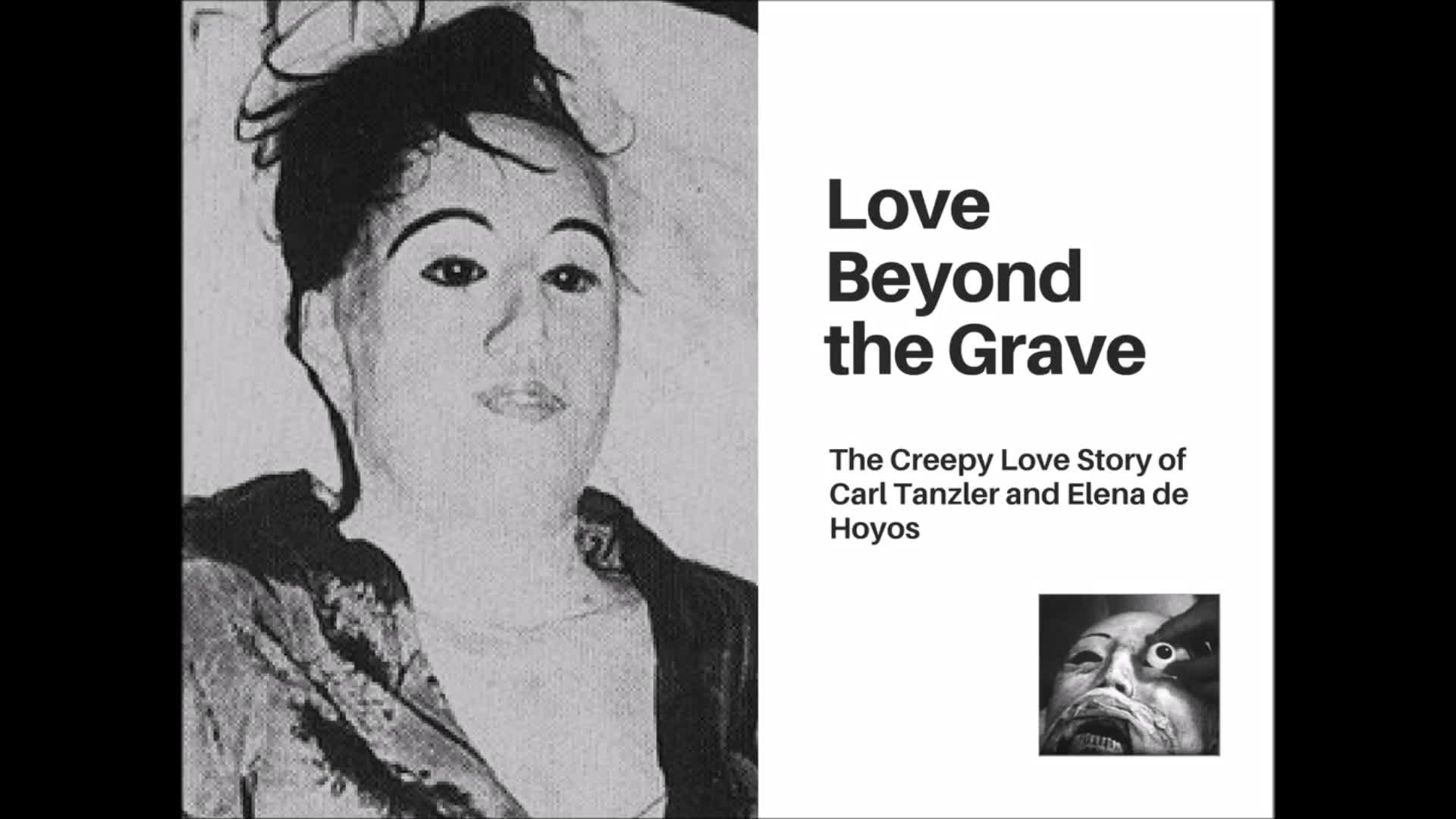 Love and Necrophilia: The True (and Creepy) Story of jew (((Carl Tanzler))) and Elena de Hoyos
