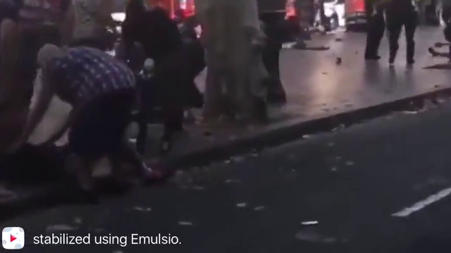 the fake 2017 Barcelona attacks / just another phoney jew/freemasonic production