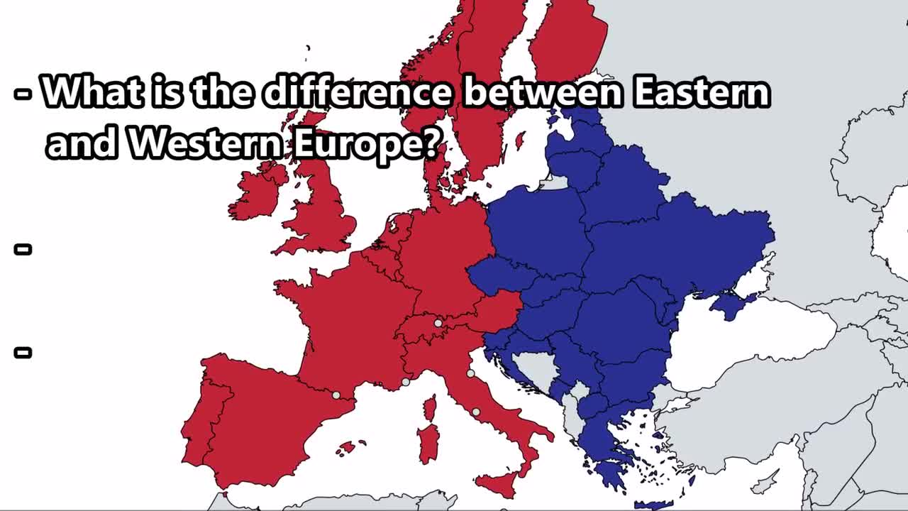 The difference between Western Europe and Eastern Europe by PaulNielsen