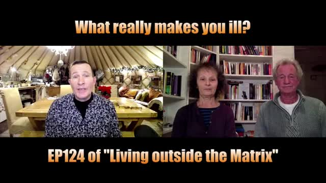 Ep 124 Dawn Lester and David Parker discuss What Really Makes you ill