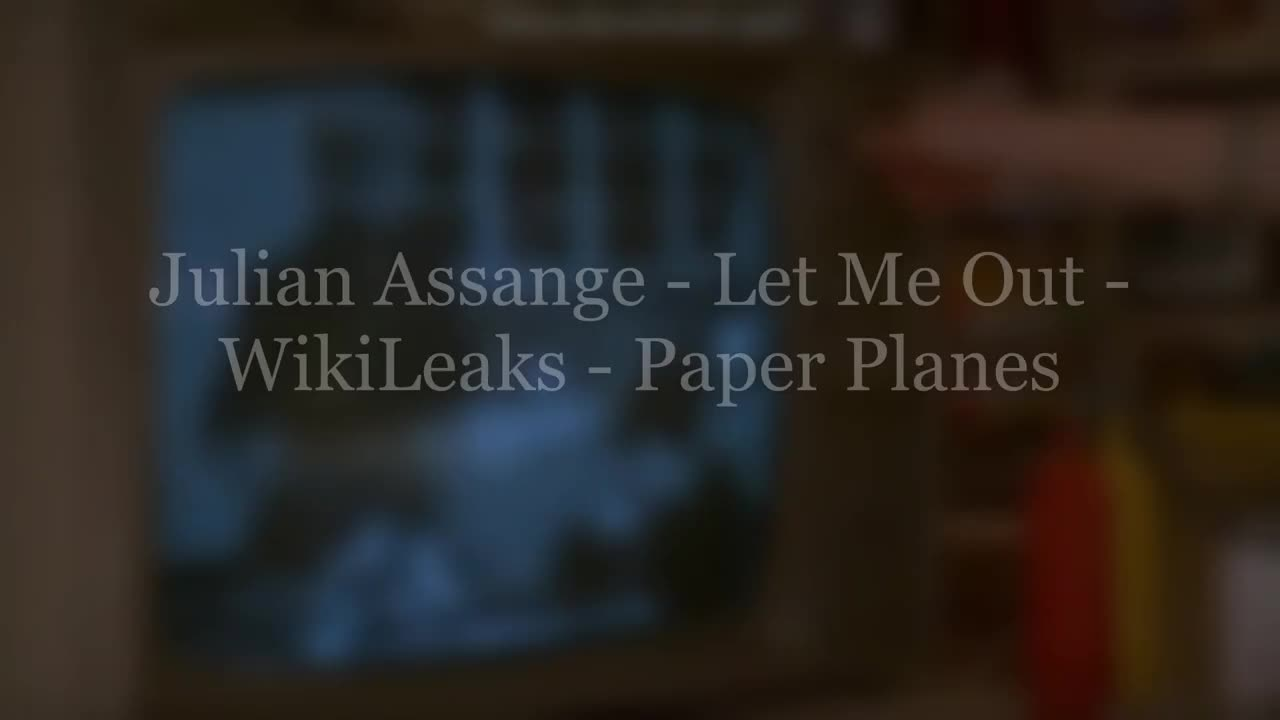 Julian Assange - Collateral Damage - Combat Footage - WikiLeaks - Paper Planes - Way Of the Future